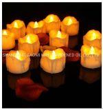 Candela della chiesa LED, candela della decorazione LED della chiesa