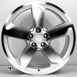 車輪はAudiのための高品質のレプリカの合金の車輪の縁に縁を付ける