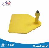 Etiqueta animal pasiva del Lf 125/134.2kHz Em4305 RFID para seguir