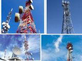 Torretta d'acciaio fornita di gambe delle Telecomunicazioni 4 mobili del telefono delle cellule di GSM CDMA fatta in Cina