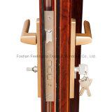 Termico-Rompere il portello della stoffa per tendine della lega di alluminio con l'intelaiatura di portello (FT-D80)