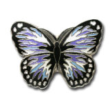 Modificar la divisa/Pin a todo color de la solapa para requisitos particulares (QL-Hz-0035) del metal de la dimensión de una variable de la mariposa de la impresión