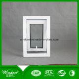 Hot design cadre blanc pour le projet de vitre coulissante de PVC au Chili