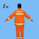 Impermeabile arancione di fluorescenza TC per l'adulto