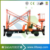 8 м до 14m четыре колеса комбайна Cherry шарнирно подъемник для установки кондиционера воздуха