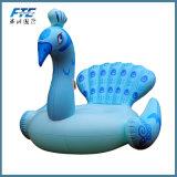 Pavão Montar-no brinquedo Piscina do partido da água de Mattres do ar do Lounger dos flutuadores