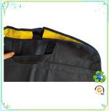 Sacchetto non tessuto su ordinazione del vestito dell'indumento della guarnizione della chiusura lampo di Eco di due colori
