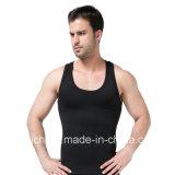 رجال جسم مشكّل ينحل صدرة بطن ملحومة [ت-شيرت] نحيلة لأنّ رجال