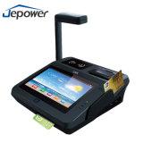Dispositivo androide de la posición de Jp762A con Buil-en Printer/RFID y el lector de tarjetas del golpe fuerte