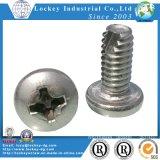 El tornillo de acero inoxidable de la máquina de mecanizado de cabeza hexagonal de tornillo tornillo
