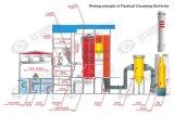 Боилер пара кипящего слоя Биомасс-Включения обеспечивая циркуляцию для электропитания