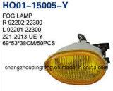 안개 램프 회의는 Hyundai 악센트 1998-1999년을 적합하다. 최상 중국! 직접 공장!
