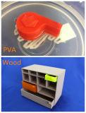 10 ans de l'expérience 1.75mm de PLA de filament de la vente en gros 3D d'imprimante de filament de filament orange de expulsion de PLA