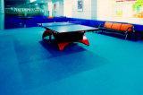Ittf Bescheinigungs-Qualität preiswerter Innen-Belüftung-Sport-Rollenfußboden mit der 4.5mm Stärke