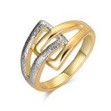 De Ring van de Vinger van de gouden en Zilveren Gp Vrouwen van de Juwelen van de Manier van de Douane