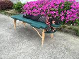 Portátil cama de masaje mesa de masaje con los accesorios llenos