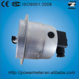 100mm 4 avancent tout l'indicateur de pression électrique de contact d'acier inoxydable avec la bride avant et le type inférieur connexion