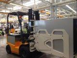 عربة كهربائيّة 1.5 طن بطّاريّة رافعة شوكيّة مع علبة مشبك