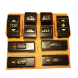 12 cores borracha macia, Máquina de distribuição automática de chaves de PVC