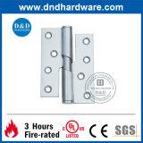 La charnière en baisse de la construction solides solubles pour la porte en métal avec l'UL a indiqué