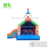 De Opblaasbare Uitsmijter Combo van het Circus van de Clown van de kleur met Dia