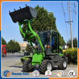 中国の販売のための安いフロント・エンドMinilのローダーZl908 0.8tonの車輪のローダー