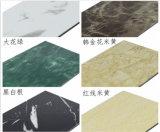 Decorazione esterna della parete di uso di alluminio del piatto di serie del granito di Differnet