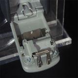 壁の取付け可能な主記憶の金庫、4ディジットのダイヤル錠、122*87*40mm亜鉛合金の鍵箱
