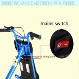 Motorino elettrico della bici di mobilità del freno del vagone per il trasporto dei lingotti di Bluetooth con il pedale