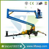 12m 14m Remorquable remorquable Hydraulic One Man Snorkel Boom Lift