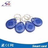 Cartão Vizit Keychain 125kHz RFID Keyfob da proximidade