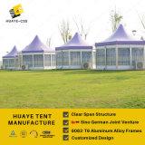 Шатры диаметра 6m шестиугольные для временно гостиницы