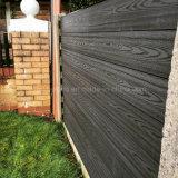 Cerca ao ar livre da privacidade WPC do jardim mesmos com a cerca da madeira da privacidade