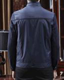 Куртка способа оптовых людей Соединени-Ткани OEM вскользь