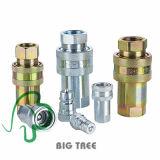 (KZE-B) Acoplador rápido hidráulico de acoplamento rápido de alta pressão