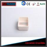 Cadinho de cerâmica de alumina de laboratório utilizado para a fusão