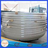 보일러 압력 콘테이너를 위한 접시에 담긴 전파 중계소 Cpas 탱크 헤드 /Tube 엔드 캡