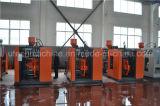 doppia macchina dello stampaggio mediante soffiatura dell'espulsione della bottiglia dell'HDPE della stazione 5L