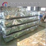 feuille ondulée enduite de toiture en métal PPGI de couleur de largeur de 1025mm