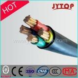 Силовой кабель сердечника низкого напряжения тока 4 медный изолированный XLPE бронированный