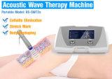 Máquina radial da terapia da onda acústica para o tratamento do Cellulite