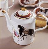 高級なコーヒーカップの一定のヨーロッパの世帯の中国の英国の午後のお茶セット