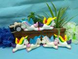 Nette Einhorn-Pferde PU-Squishy weiche langsame steigende duftende Spielwaren