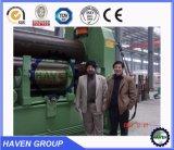 Máquina de rolamento universal hidráulica dos rolos W11S-35X3000 três para a dobra da placa