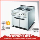 Gesetzte kochende Reichweite mit Griddle&Fryer&Hot Plate&Bain Marie