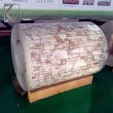 ASTM A792 MarmorAluzinc beschichtete PPGL Stahlringe für Dach