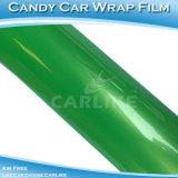 Carlike cl5801 Vert brillant des couleurs de bonbons en vinyle Voiture d'enrubannage