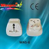 Всеобщий переходника перемещения - гнездо, штепсельная вилка (WA-6)