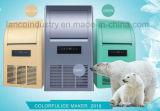 210кг автоматическая роскошь Cube нержавеющая сталь снега Ice Maker