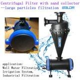 Material de los PP filtro de arena industrial del filtro centrífugo de 3 pulgadas